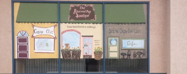The Rescued Pup's Grand Reopening